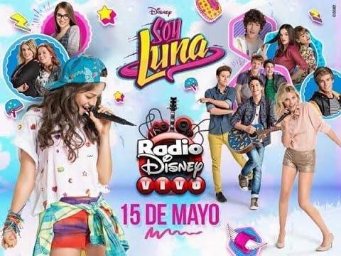 Presentación de Soy Luna en Radio Disney Vivo (Parte 2)