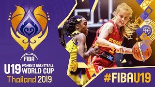 Colombia v Spain - Full Game - FIBA U19 Women's Basketball World Cup 2019