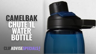 Top 5 Camelbak Chute 1L Water Bottle [2018]: CamelBak Chute Mag Water Bottle, 32oz, Bluegrass