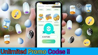 How to easily get unlimited Promo codes in Pokemon Go (New Trick 100% working)