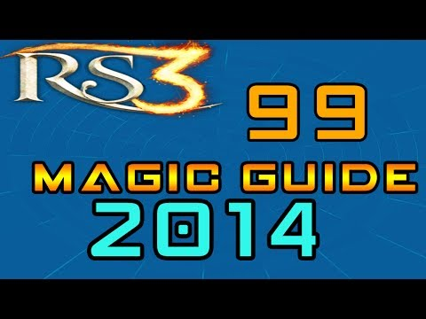 Runescape 3 EoC 99 Magic Guide Fast Xp Commentary 2014 [P2P]