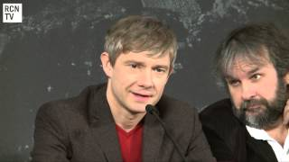 Martin Freeman Interview - Balancing Sherlock & The Hobbit