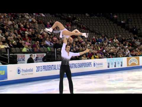 2013 Prudential U.S. Figure Skating Championships Pairs Short Program Highlights