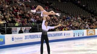 2013 Prudential U.S. Figure Skating Championships Pairs Short Program Highlights