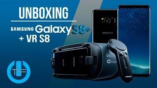 Galaxy S8 Plus & Galaxy Gear VR UNBOXING