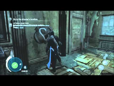The Mad Doctor's Castle - Peg Leg 4 - Full Sync plus all 4 chests - Assassins Creed 3