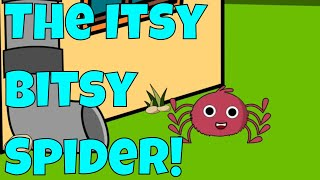 The Itsy Bitsy Spider | Popular Children's Song/Nursery Rhyme!