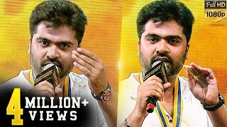 Simbu tit-for-tat on stage with a person from crowd