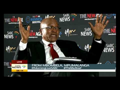 People should be given a free space: Zuma