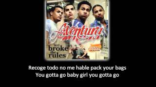 Watch Aventura I Believe yo Creo video