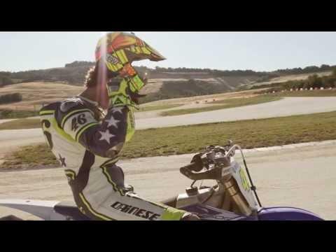 Valentino Rossi, Guy Martin und Thomas Chareyre auf Rossi's Ranch