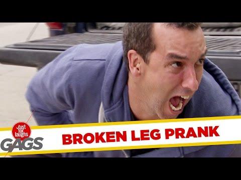 Broken Leg Prank (Lábtörés)