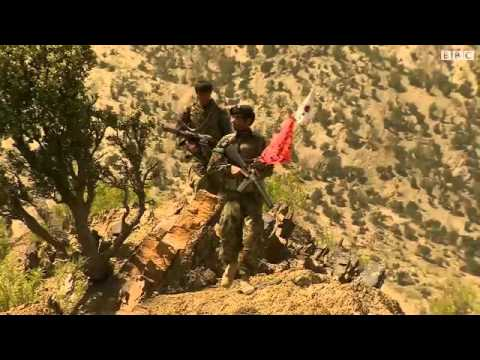 Afghan National Army fighting Taliban - BBC report