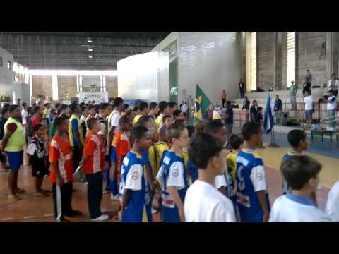 Hino Nacional com a Banda da PM de Campos dos Goytacazes