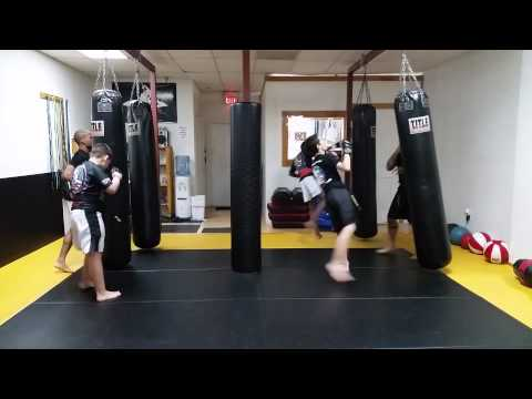 Teens bag work out
