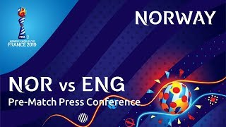 NOR v. ENG -  Norway Pre-Match Press Conference