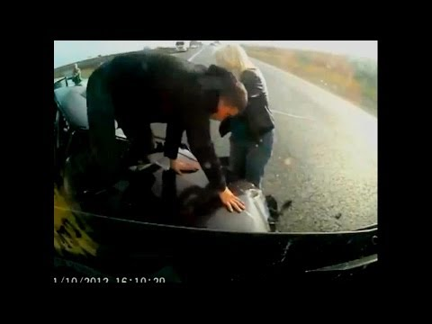 """Without seatbelt"" car crash compilation #1"