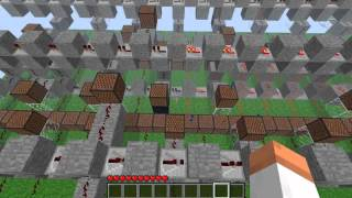 BlazBlue opening theme with Minecraft note blocks