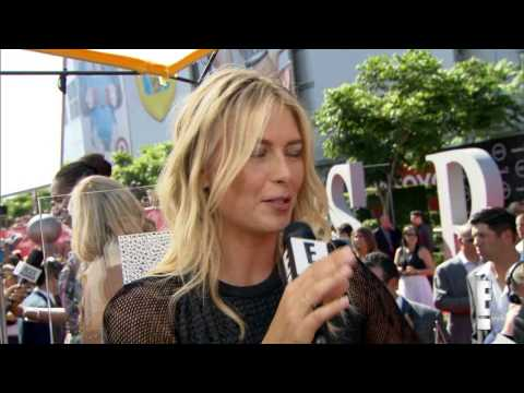 Maria Sharapova Fashion Forward ESPYs Look   2014