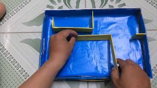 Cách làm đồ chơi giải mã mê cung [Đồ chơi cho trẻ từ 3 tuổi]