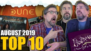 Top 10 Hottest Board Games: August 2019