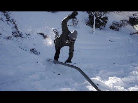 100 Kickflips On A Snowskate (Fail) and Winter Wear Test