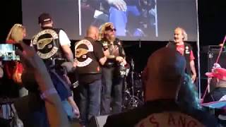 SONNY BARGER AND OAKLAND IN PARIS 2017