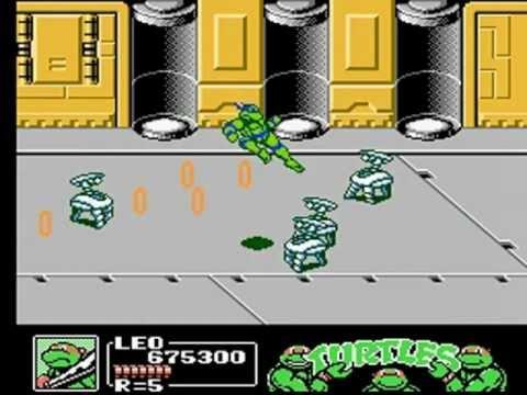 Ninja Turtles III NES