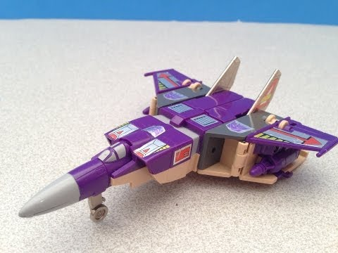 G1 BLITZWING TRANSFORMERS TRIPLE CHANGER VIDEO TOY REVIEW BY MITCH SANTONA