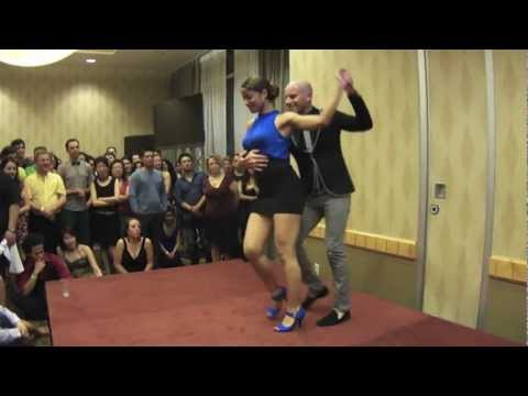 Ataca y la Alemana, bachata performance at 2012 Vancouver International Salsa Festival