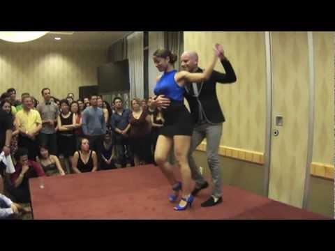 Ataca y la Alemana, bachata performance at 2012 Vancouver International Salsa Festival