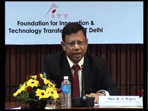 Shri. R.A. Rajeev - International CRZ Workshop (IIT Delhi) 2014