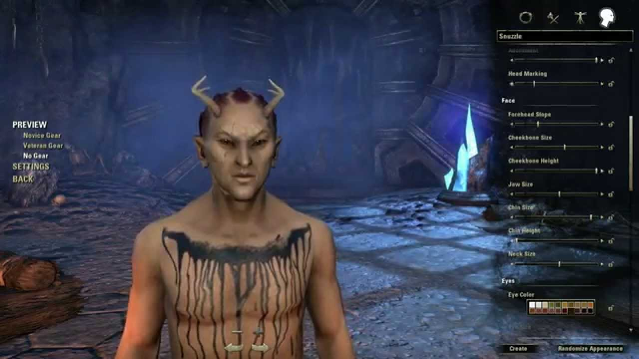 eso how to make a good looking dark elf