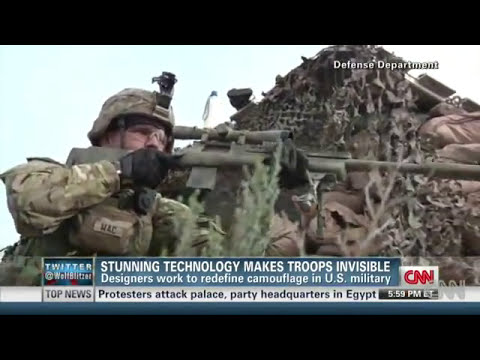 New technology makes troops invisible