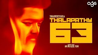 Thalapathy 63 Official Release Date Revealed? | Thalapathy Vijay | Atlee | AGS