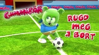 Gummibär RUGD MEG A BÖRT - (FUTIBALL) World Cup Soccer/Football Song Hungarian Gummy Bear Gumimaci