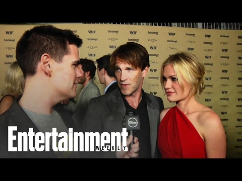 'True Blood' - Anna Paquin and Stephen Moyer interview at EW's Emmy Party 2010