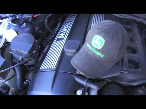 BMW E46 Low secondary air, codes f5, f6 how to check