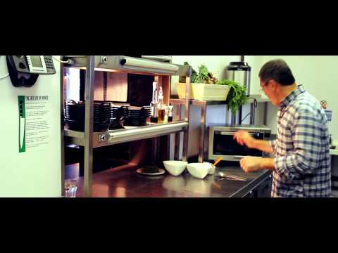 Vegetable recipes - Daniel Galmiche cooks vegetables with Panasonic