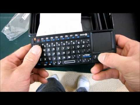 Visiontek Candyboard Mini HTPC Touchpad Keyboard Unboxing & First Look Linus Tech Tips