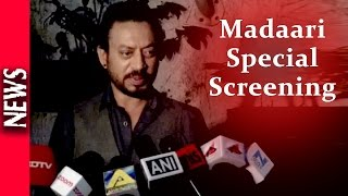 Latest Bollywood News - Celebs At Madaari Screening - Bollywood Gossip 2016