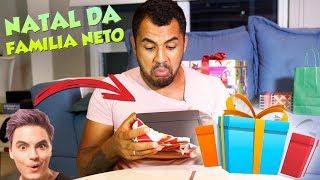 ABRINDO PRESENTES DE NATAL DA FAMÍLIA NETO