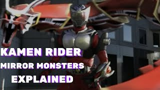 Kamen Rider Ryuki Mirror Monsters EXPLAINED