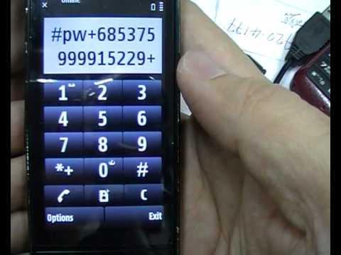 ปลดล็อค NOKIA  X6 X3 x2 6303 7230  6700s unlock 6720
