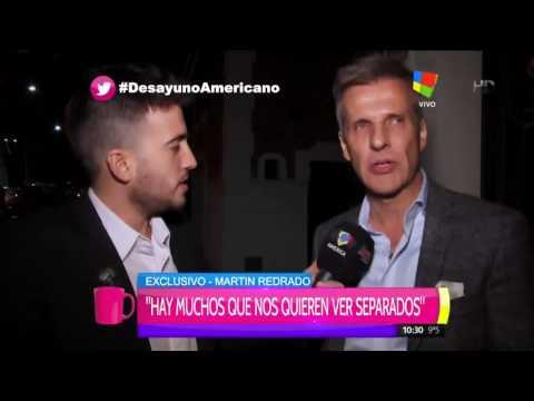 Martín Redrado: Hay mucha gente que nos quiere ver separados