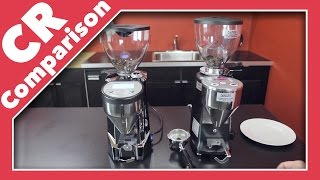 Rocket Fausto vs. Mazzer Mini Type A | CR Comparison