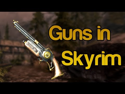 Skyrim Mods - Guns in Skyrim - Dwemer Rifle and Buster