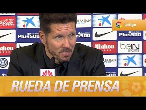 Rueda de prensa de Simeone tras el Atlético de Madrid (3-0) Granada CF