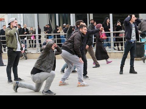 Mannequin Challenge in Public Prank! (Strangers) #Mannequinchallenge