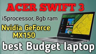 Acer Swift 3 (2019) Review in తెలుగులో ||Srlaptopcare||